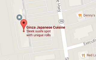 Map of Ginza Japanese Cuisine in Wethersfield, CT
